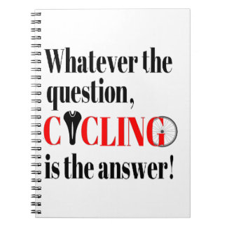 Cycling is the Answer Note Books