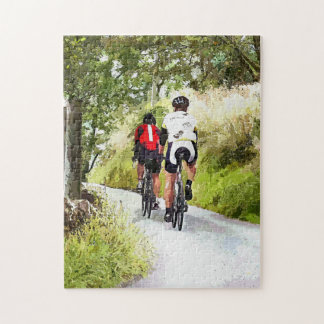 CYCLING JIGSAW PUZZLE