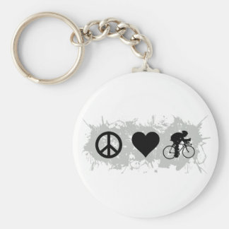 Cycling Keychain