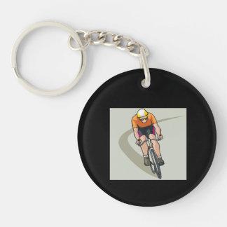 Cycling Acrylic Keychains