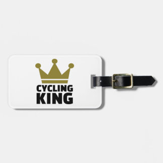 Cycling king champion tags for bags