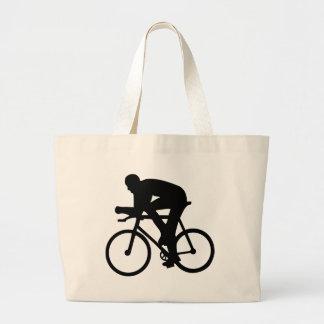 Cycling Large Tote Bag