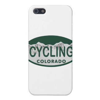 cycling license oval iPhone 5 cover