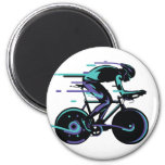 Cycling Light 2 Inch Round Magnet