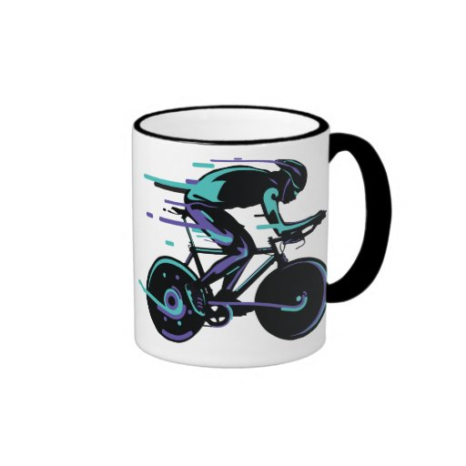 Cycling Light Coffee Mugs