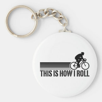 Cycling (male) keychain