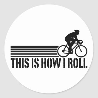 Cycling (male) stickers