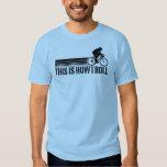 Cycling (male) tee shirt