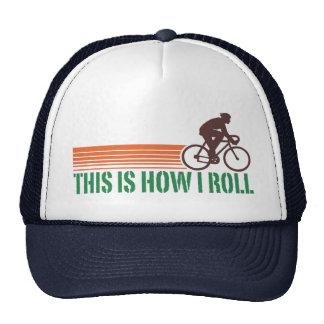 Cycling (male) trucker hat