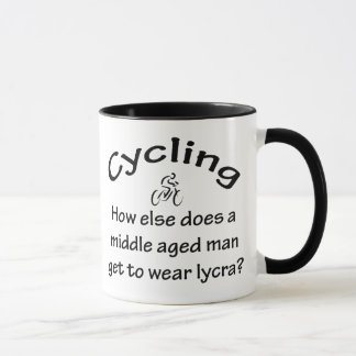 Cycling Man Mug