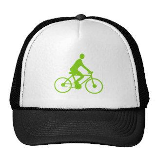 Cycling - Martian Green Mesh Hat