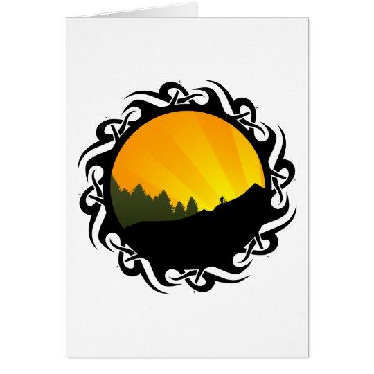 cycling : mountain rayz : card
