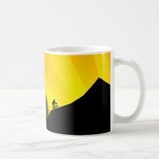 cycling : mountain rayz : coffee mug