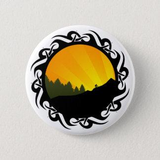 cycling mountain rayz pinback button