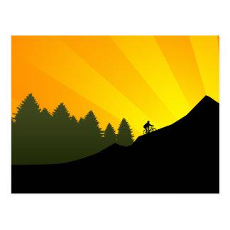 cycling : mountain rayz : postcards