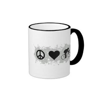 Cycling Ringer Coffee Mug