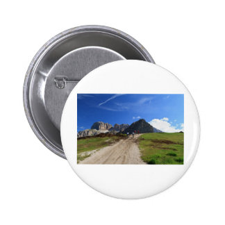 cycling on Dolomites Pinback Button