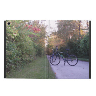 Cycling on the Slippery Elm Bicycle Trail iPad Air Case