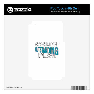 CYCLING OUTSTANDING PLAYER iPod TOUCH 4G SKINS