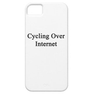 Cycling Over Internet iPhone 5 Cover