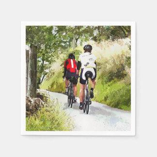 CYCLING PAPER NAPKIN