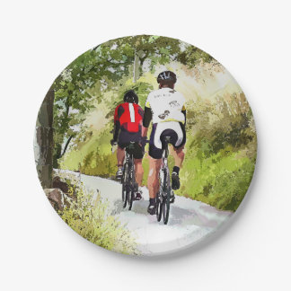 CYCLING PAPER PLATE