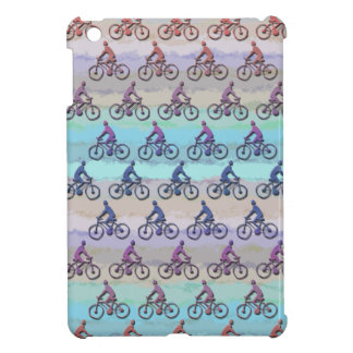 CYCLING PATTERN iPad MINI COVER