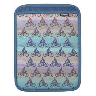 CYCLING PATTERN iPad SLEEVE