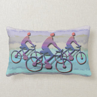 CYCLING PATTERN LUMBAR PILLOW