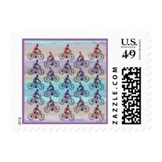 CYCLING PATTERN POSTAGE