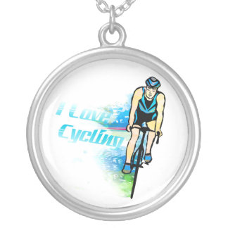 Cycling Plated Round Necklace
