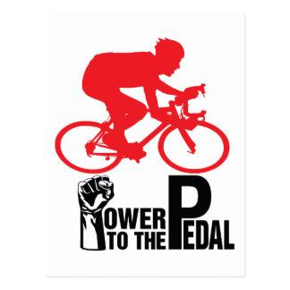 Cycling Postcard