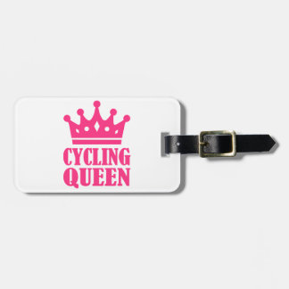 Cycling queen champion bag tag