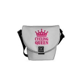 Cycling queen champion messenger bag