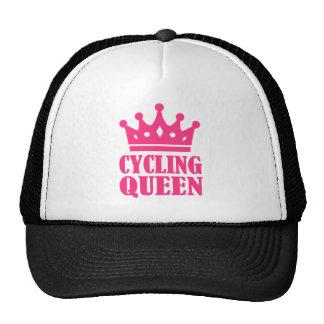 Cycling queen champion trucker hat