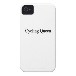 Cycling Queen iPhone 4 Case