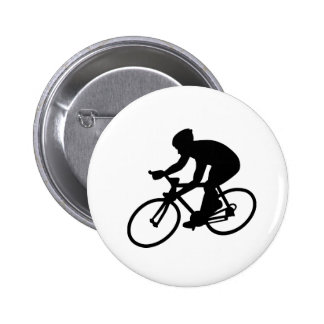 Cycling race 2 inch round button