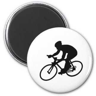 Cycling race refrigerator magnets