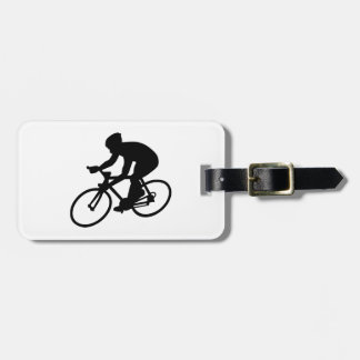 Cycling race tag for luggage