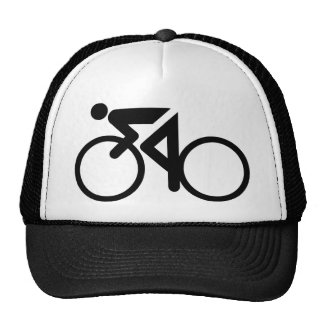 cycling racing bicycle trucker hat