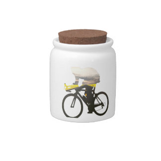 Cycling road cyclists 01 candy dishes