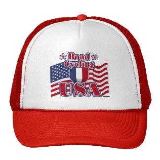 Cycling Road USA Trucker Hat