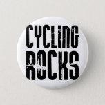 Cycling Rocks Pinback Button