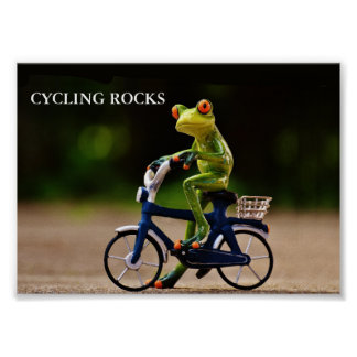 Cycling Rosks Poster