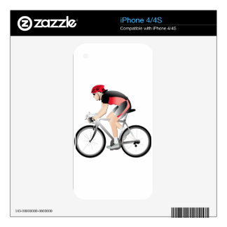Cycling iPhone 4 Decal