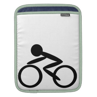 Cycling Stick Figure Sleeve For iPads