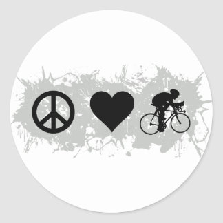 Cycling Classic Round Sticker