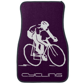 Cycling-Themed Car Mats