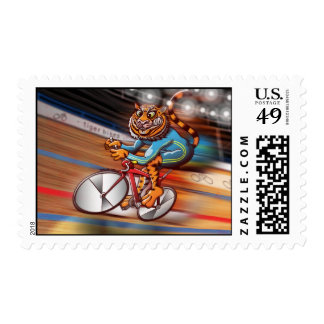 Cycling Tiger Postage