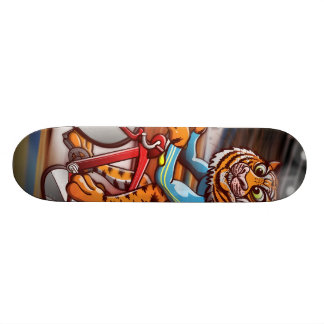 Cycling Tiger Skateboard
